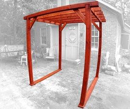DIY Yard/Garden/Wedding Pergola