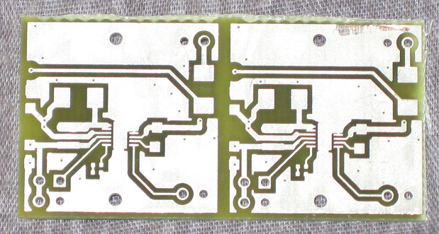 Picture of PCB Bottom Side