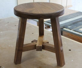3 way lap joint stool!!!