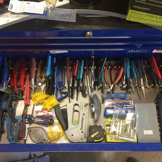 Cheap Tool Box Organization