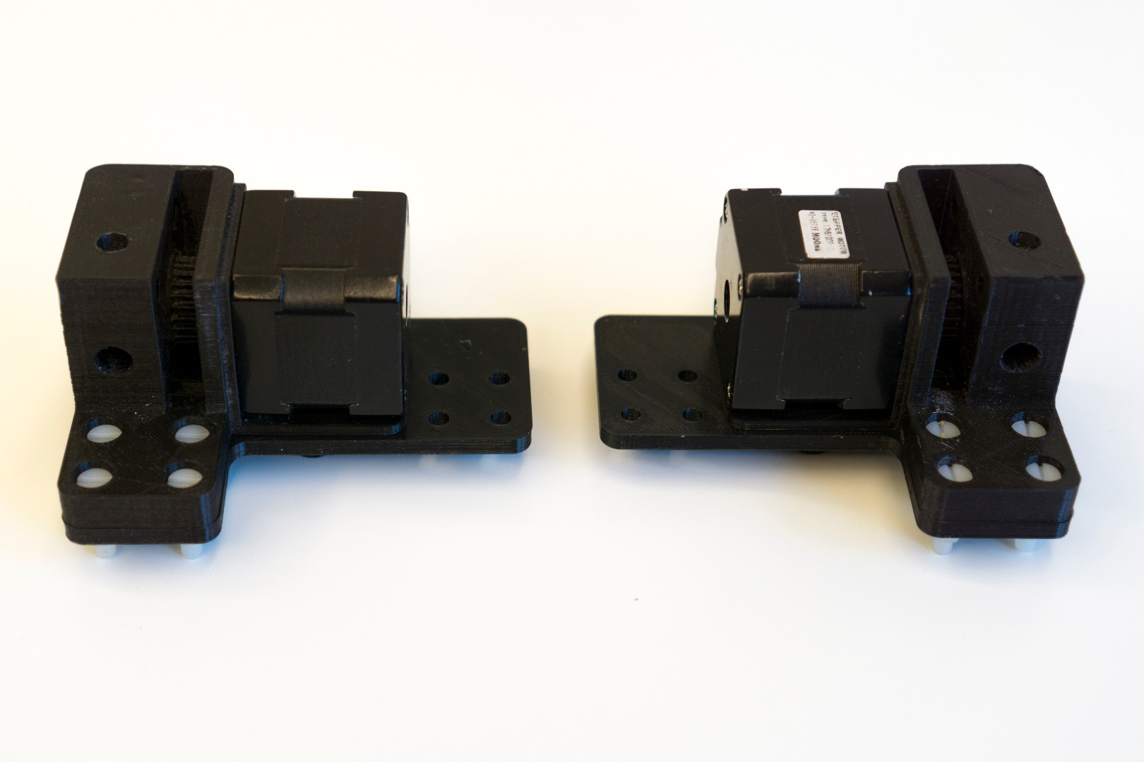 Picture of Bottom Part-B & X-Axis Motors