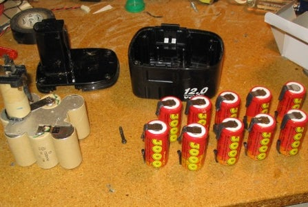 Assemble the New Pack of Batteries
