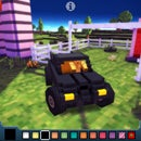 Blocky Roads Batmobile (Minecrafty Driving Game)