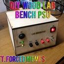 DIY ATX Wood Lab Bench PSU