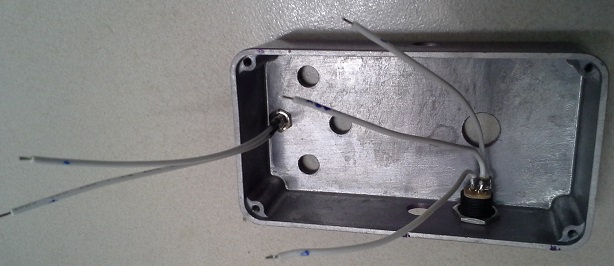 Picture of Mounting the LED and Power Supply Connector in the Housing