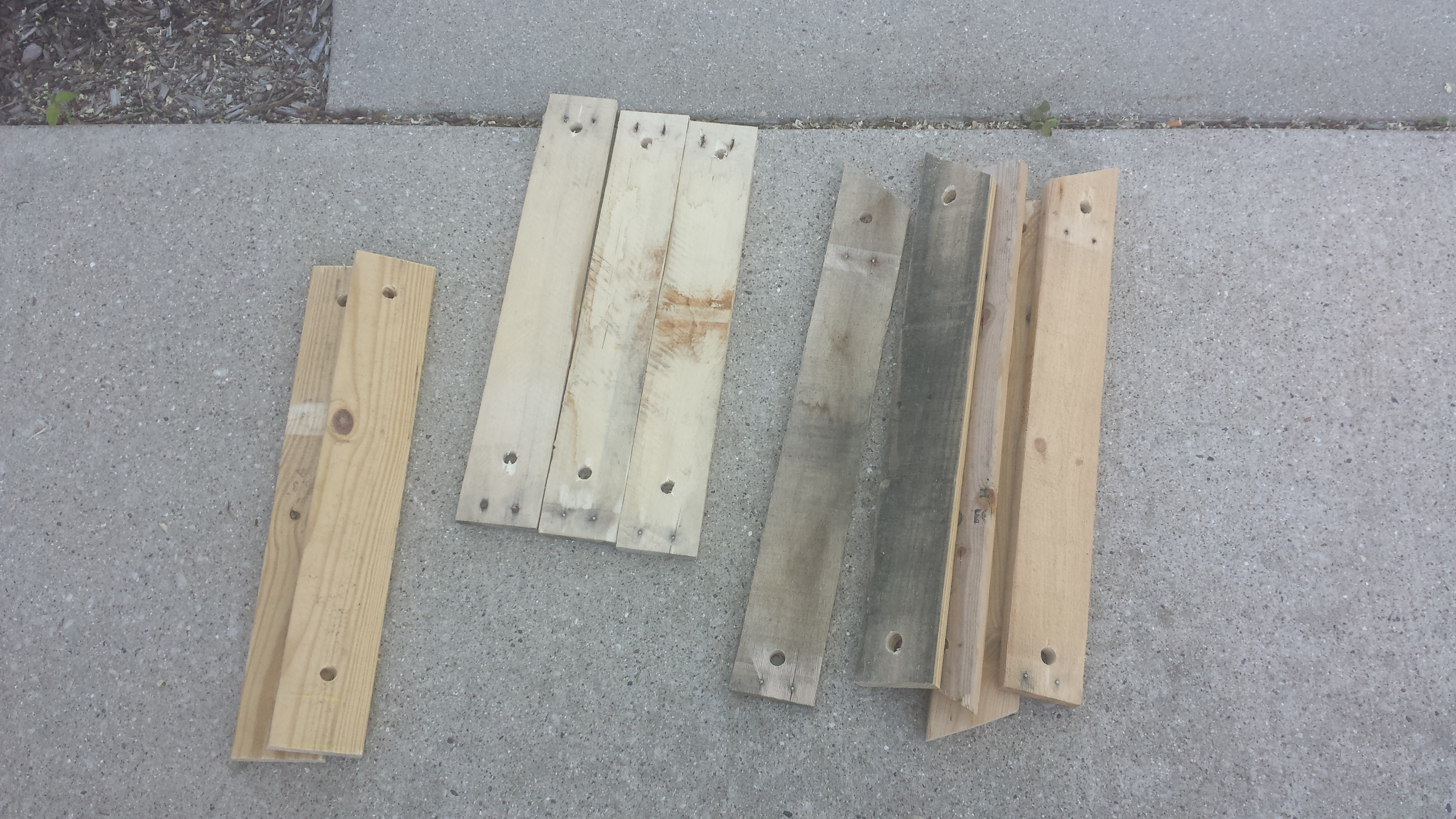 Picture of Cutting/Drilling Back and Seat Boards