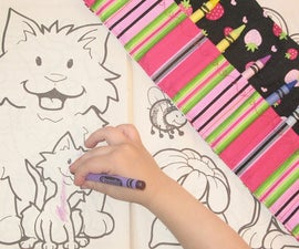 How to make a Crayon Roll!