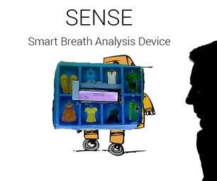 SENSE : Smart Breath Analysis Device ( a Smart Breathalyzer )