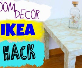 IKEA Hack.  Transform LACK Table