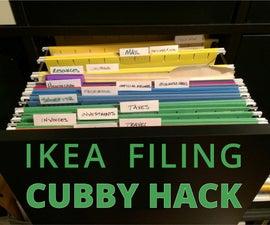 IKEA Expedit Filing Cabinet Hack