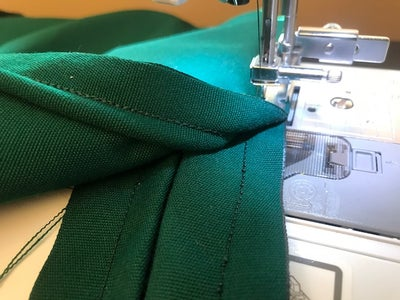 Sewing the Boxing to the Top Plate