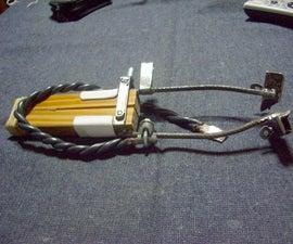 My Phil B type carbon arc torch (mi soplete de arco a carb�n, tipo Phil B)