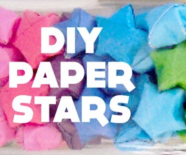 DIY Lucky Stars // Paper Star