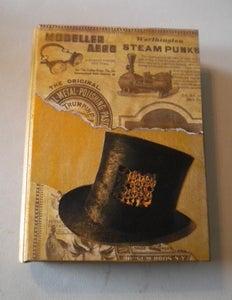 Steampunk Wooden Book
