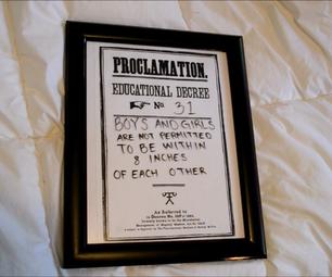 Harry Potter Dry Erase Proclamation DIY   CassKnowlton