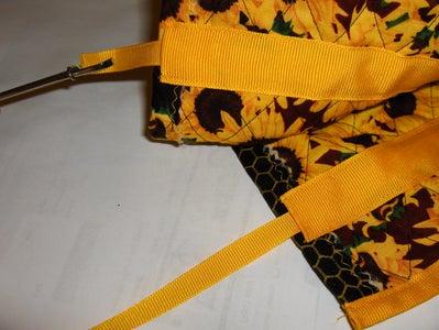 Step 9: Ribbon Tie