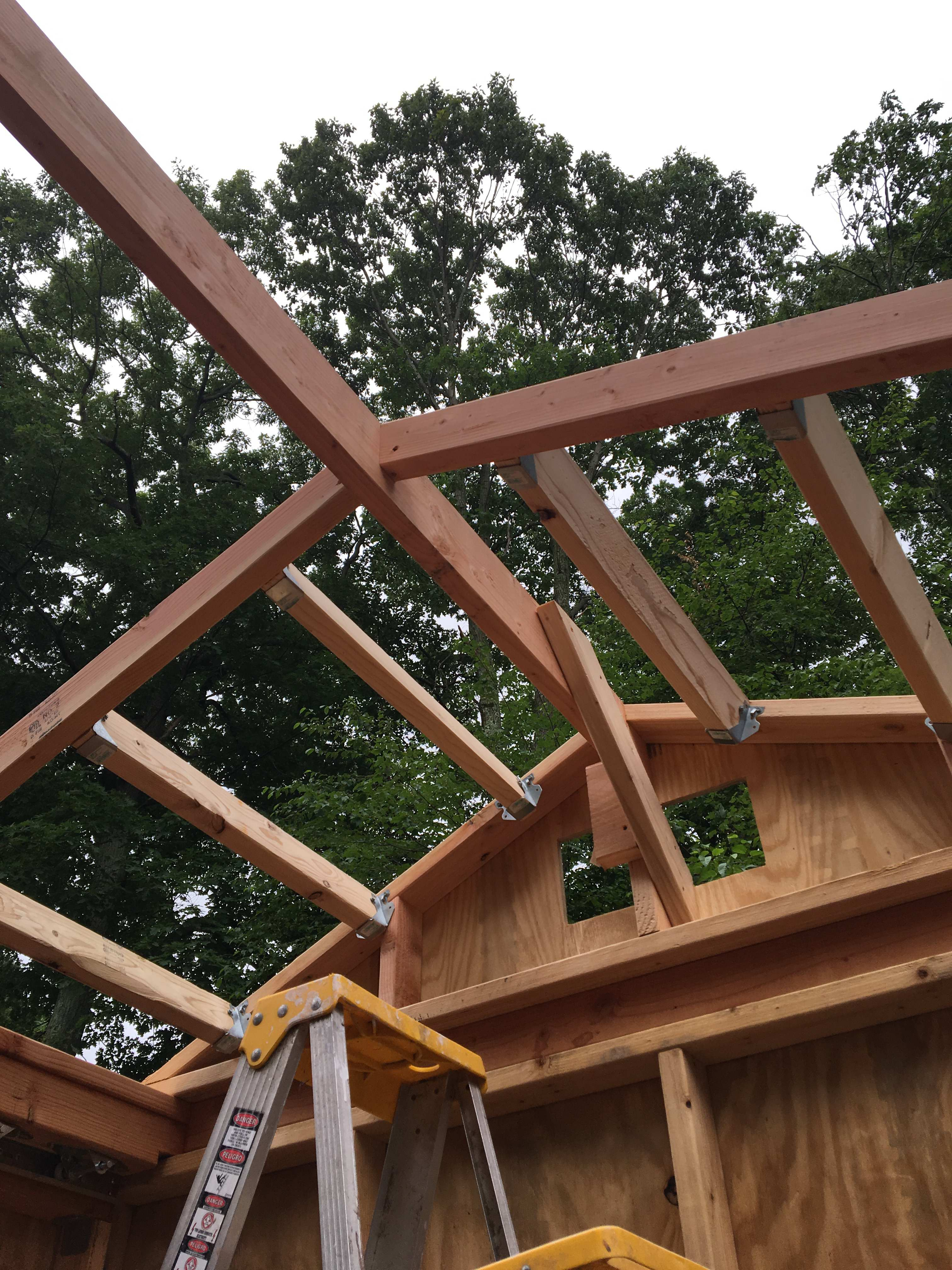 Picture of STEP 6 - Build the Roof Frame (7/12)