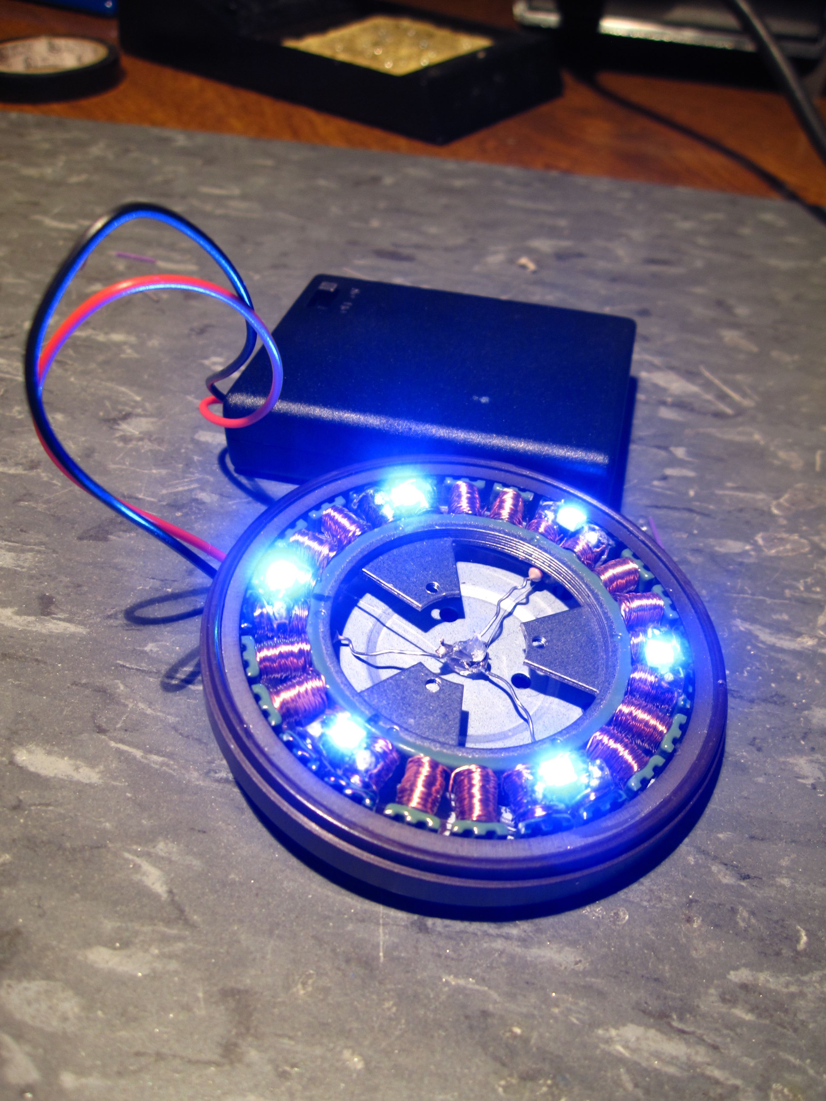 Picture of Stepper Motor Arc Reactor