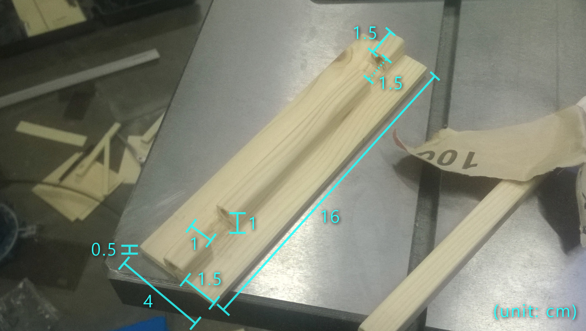 Picture of Making a Hinge