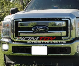 How to Install 2011-16 Ford F250 27W LED Fog Light Assembly