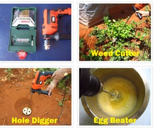 Unusual Uses of a Drilling Machine