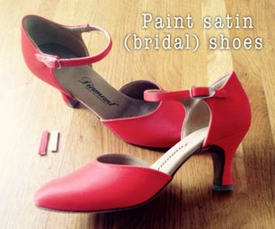 Paint Satin (Bridal) Shoes in Any Color You Want!