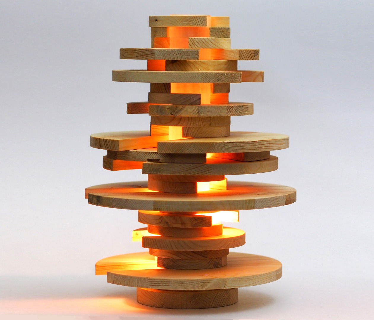 Picture of Stacked Lamp