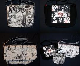 Manga Messenger Bag