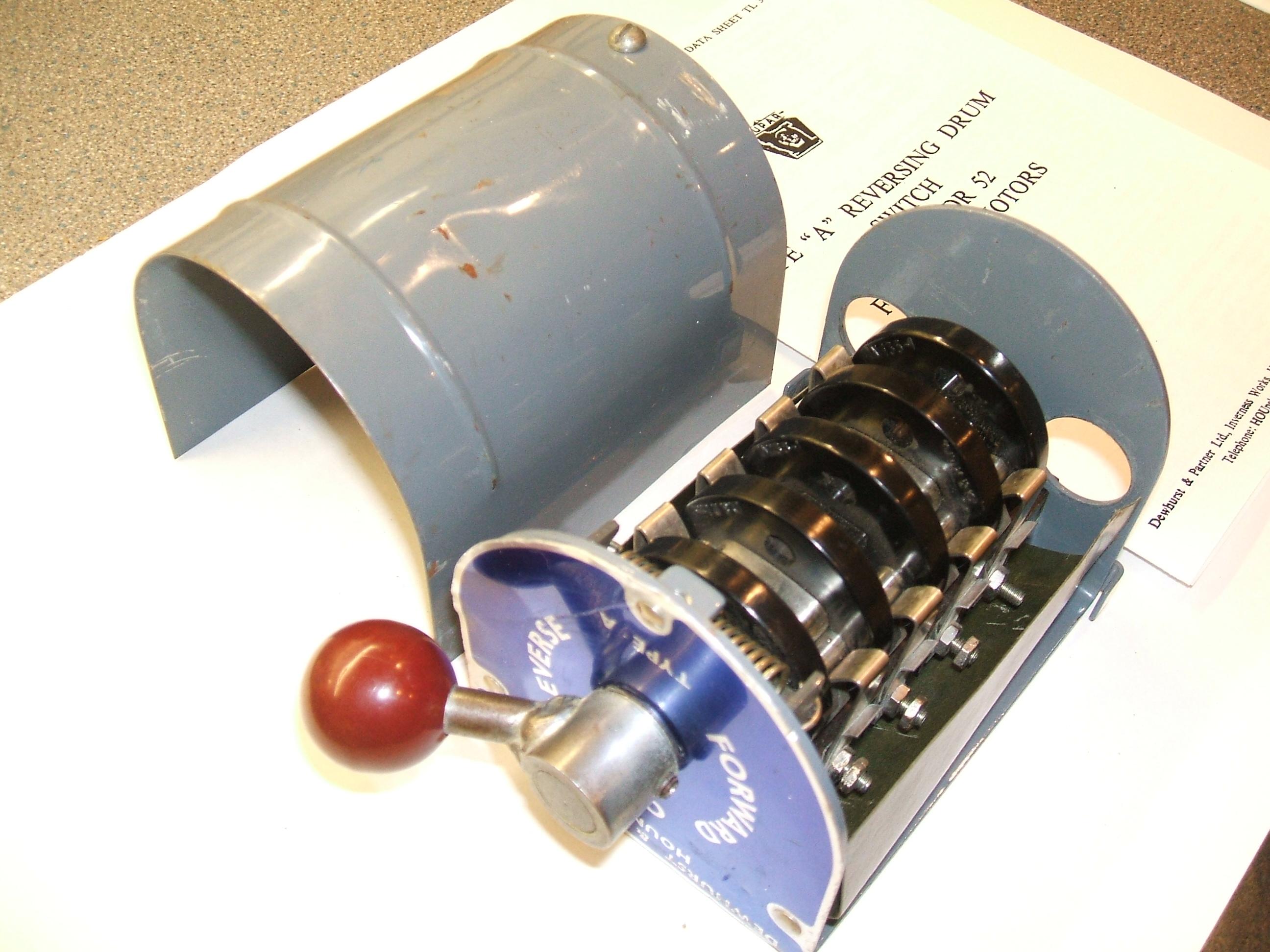 Picture of Dewhurst Drum Switch