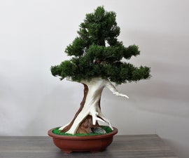 Artificial Juniper Bonsai