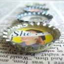 How to Make Vintage Bottlecap Magnets