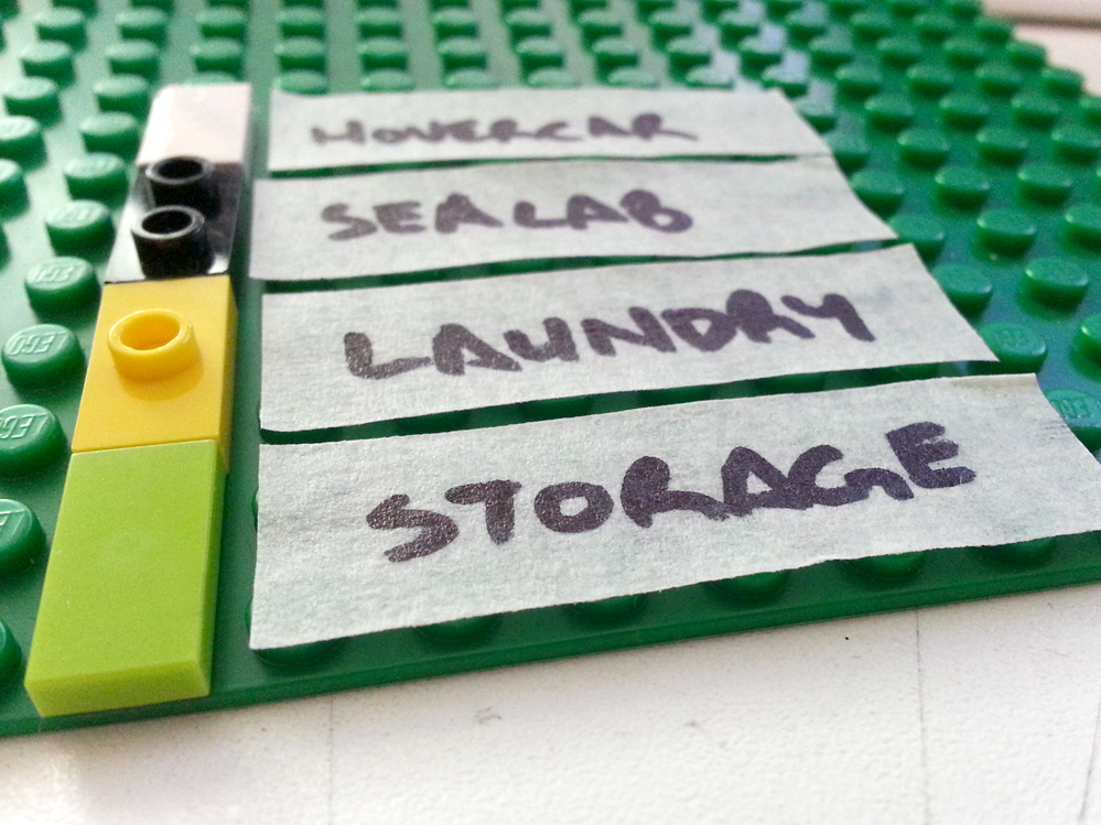 Picture of Base Plate and Labeling