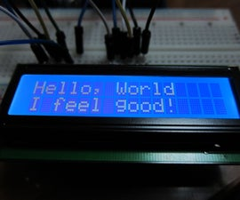 My First Project: Arduino LCD 16x2 Display