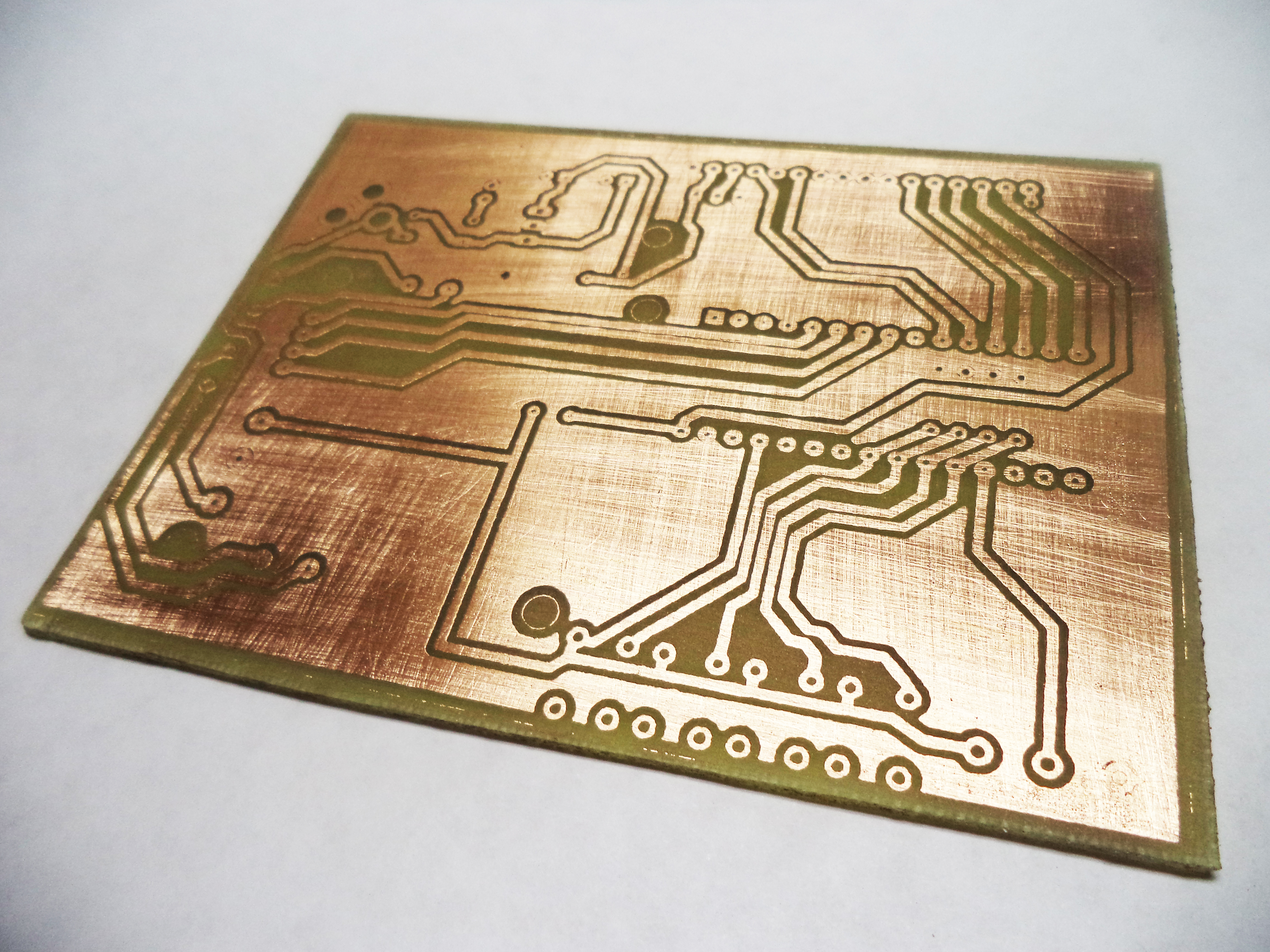 Picture of PCB Making (My Method)
