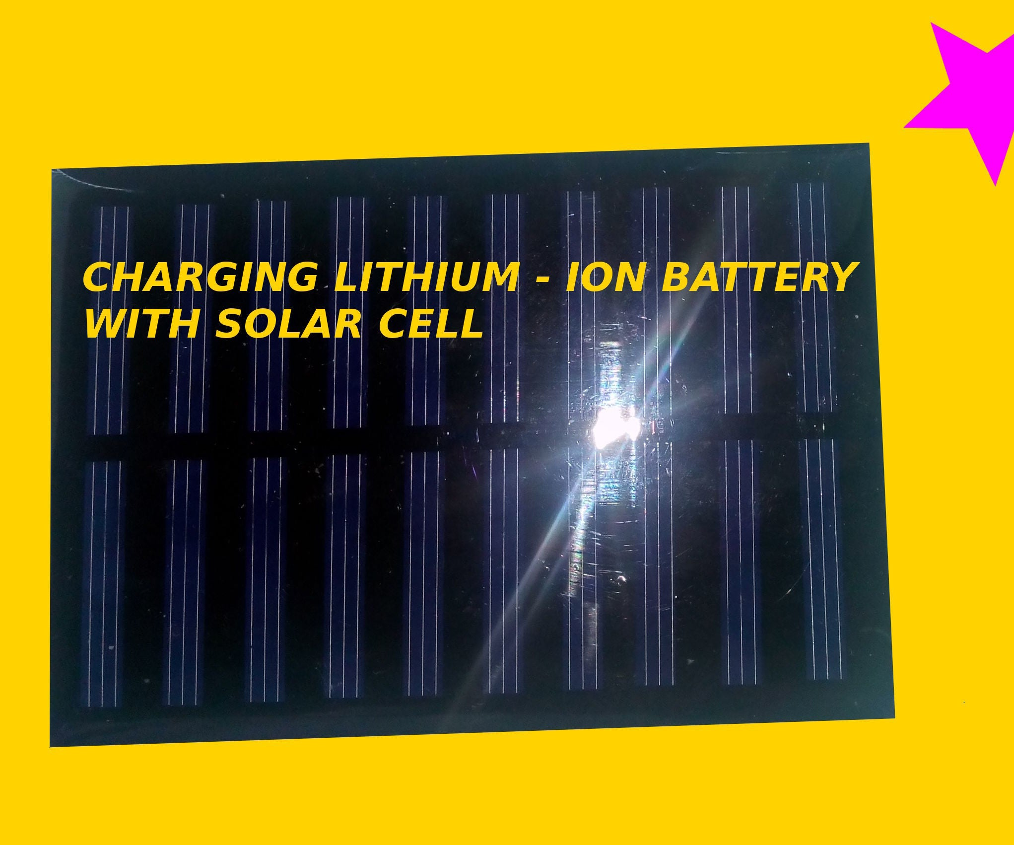 Charging Lithium Ion Battery With Solar Cell 7 Steps Pictures Charger Circuit 1 Html Further Nimh