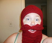 How to Crochet a Mustache Hat Costume