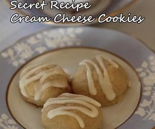 Secret Recipe Cream Cheese Cookies