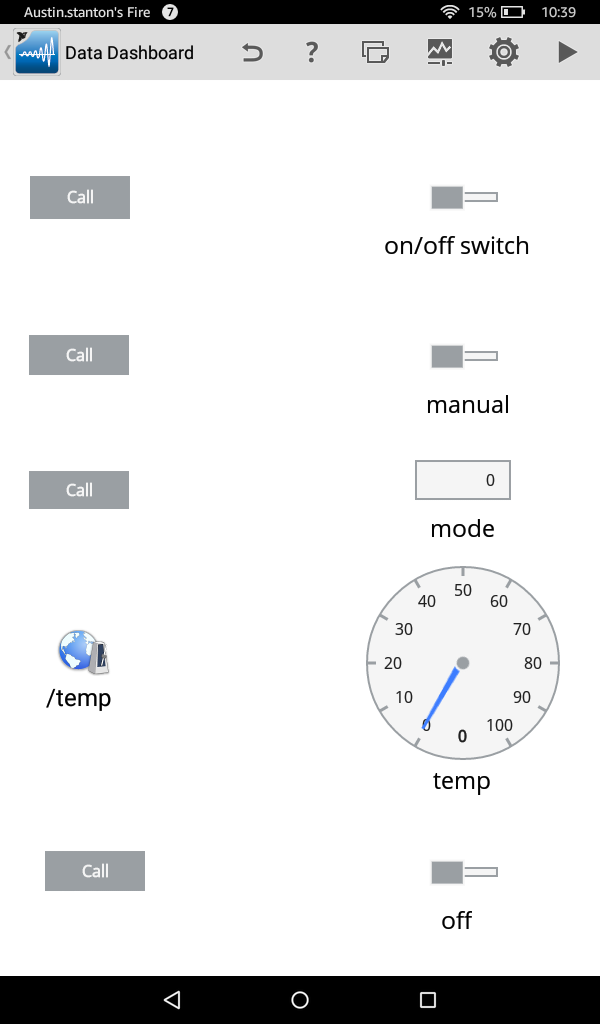 Picture of Using a Tablet to Control a Raspberry Pi With LabVIEW
