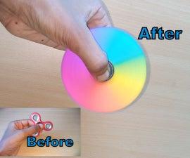 Diy Customized Fidget Spinner(Rainbow Fidget Spinner)