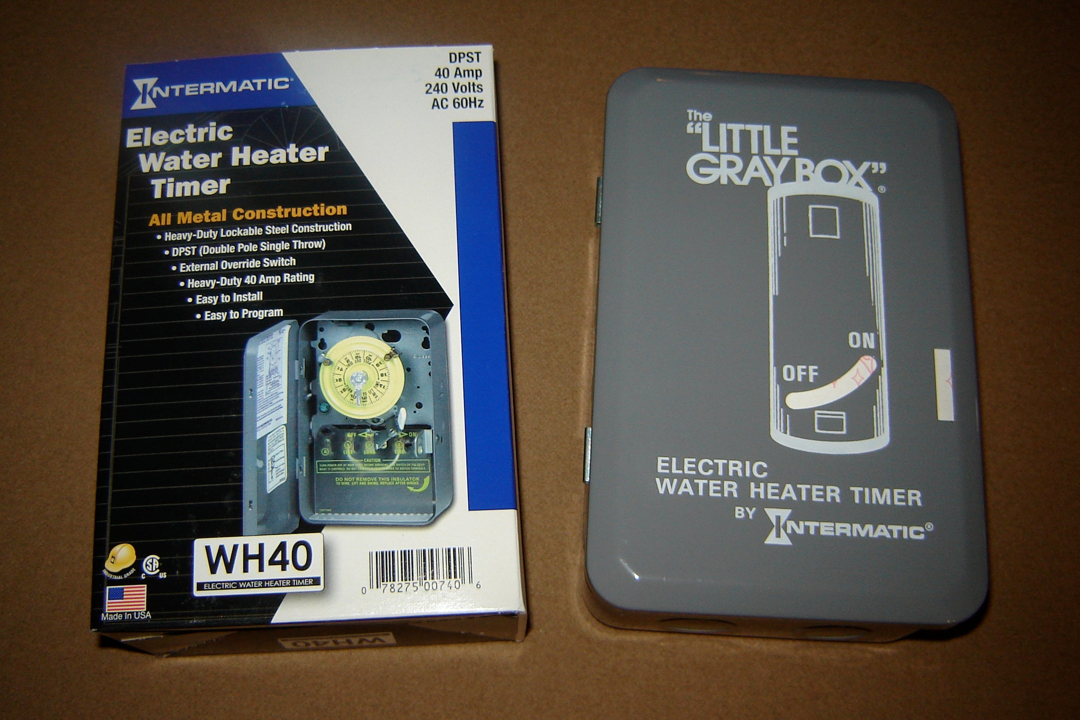 Hot Water Heater Timer 5 Steps With Pictures Dual Intermatic Time Clock Wiring Diagram
