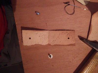Leather Backing, Snap Hooks, Belts and Handle
