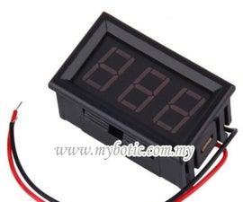 Tutorial for Mini Digital Voltmeter