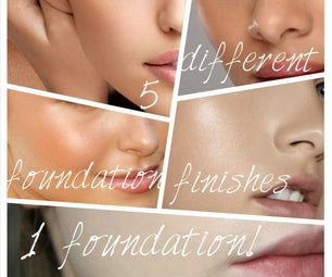 5 Different Foundation Finishes-- 1 Foundation!