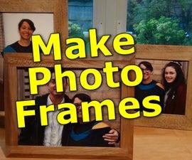 Make a Solid Wood Photo Frame