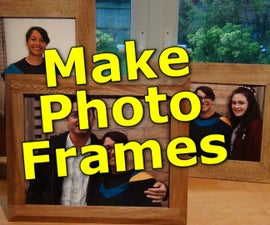 Make a Solid Wood Photo Frame