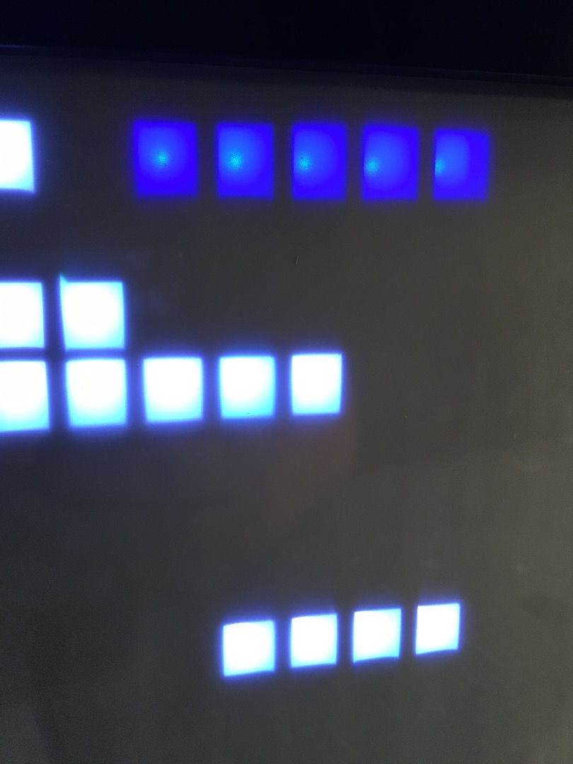 Picture of Baffles Meet LEDs, Real-time Clock and Switches