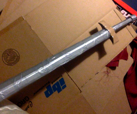 Cardboard Sword. Strong and Swift.