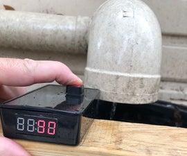 Ultrasonic Rainwater Tank Capacity Meter