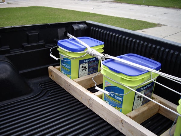 Pickup Truck Ballast Rack