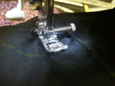 Sewing the Glove